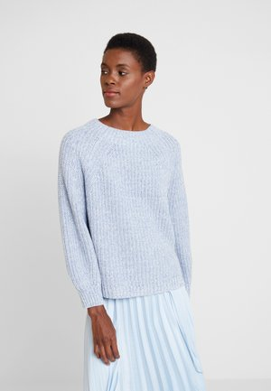 CROP MOCK - Jumper - light blue marl