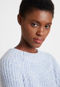 GAP - CROP MOCK - Jumper - light blue marl - 3