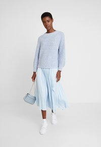 GAP - CROP MOCK - Jumper - light blue marl - 1