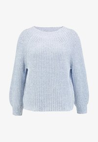 GAP - CROP MOCK - Jumper - light blue marl - 4