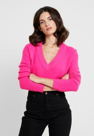 Pullover - sizzling fuchsia neon