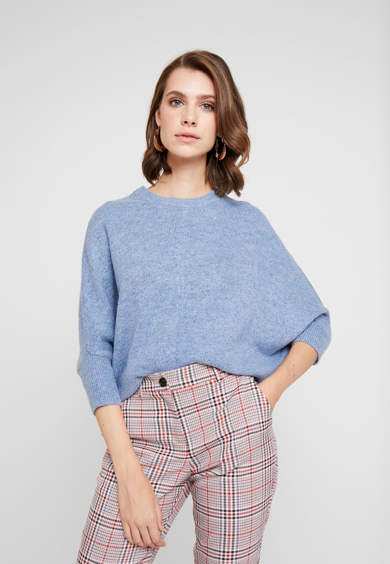 GAP - DOLMAN - Strickpullover - blue cloud