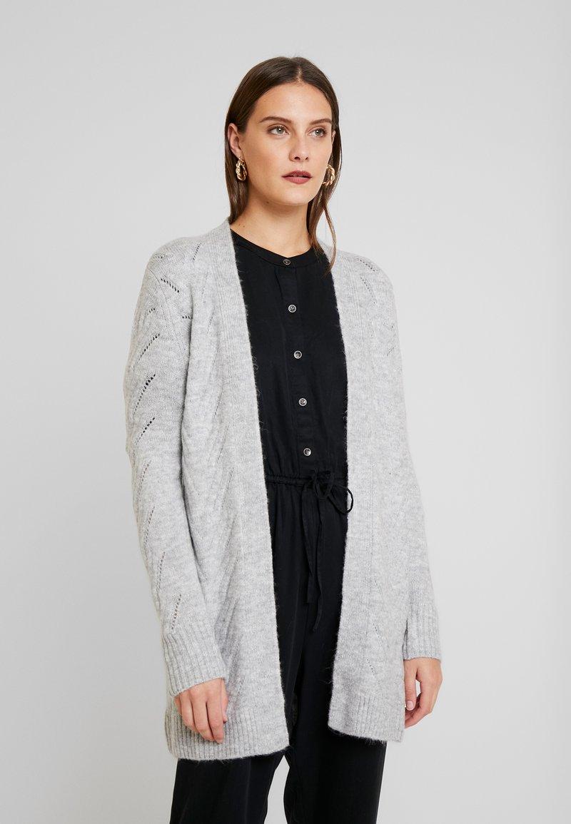 GAP - POINTELLE - Kardigan - light heather grey