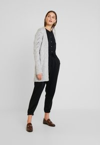 GAP - POINTELLE - Kardigan - light heather grey - 1