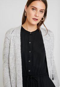 GAP - POINTELLE - Kardigan - light heather grey