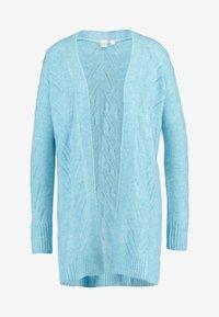 GAP - POINTELLE - Cardigan - light blue heather - 3
