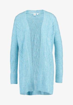 POINTELLE - Cardigan - light blue heather