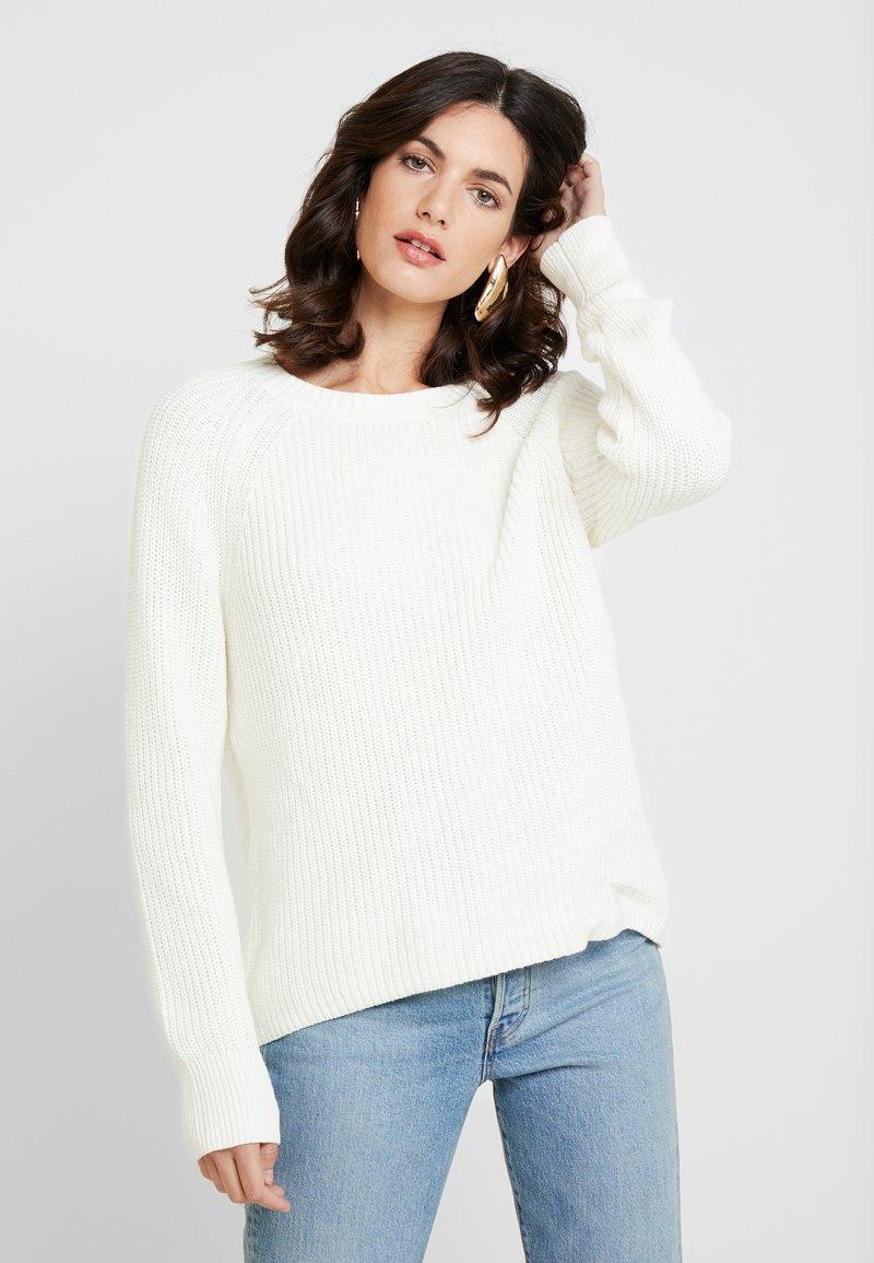 GAP - Stickad tröja - snowflake milk