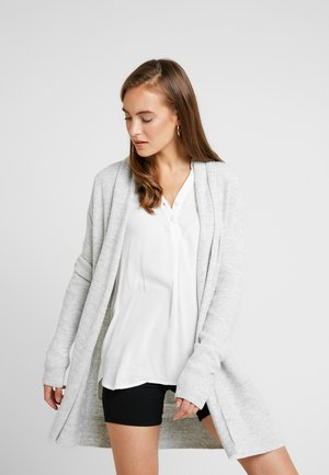 BROOKLYN CARDI - Kardigan - light grey heather