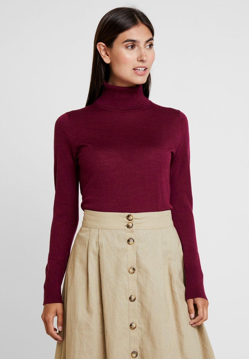 GAP - TURTLENECK - Jumper - boysenberry juice