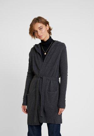 COM BOUCLE CARDI - Vest - charcoal heather