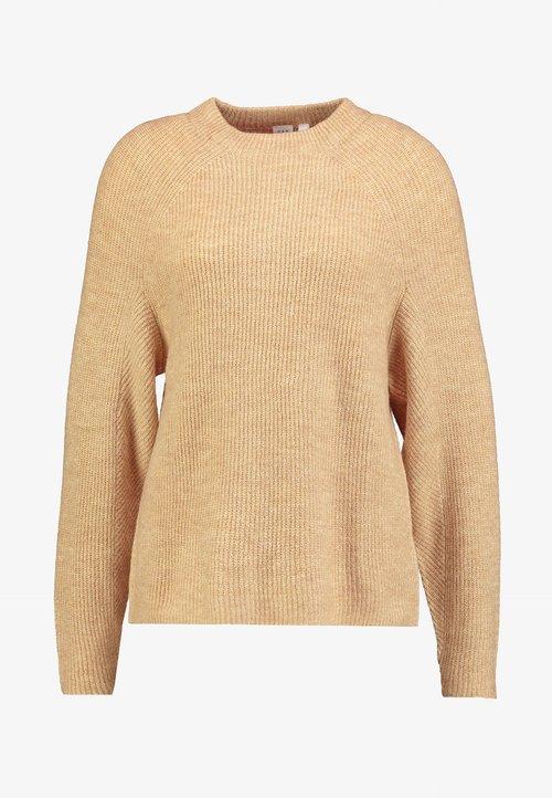 piękny GAP DRAMA - Sweter - camel heather Odzież Damska NWVB-IY2