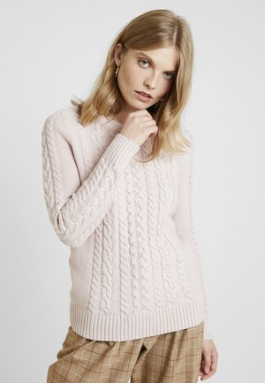 CABLE CREW - Jersey de punto - dull rose