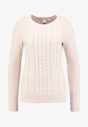 CABLE CREW - Sweter - dull rose