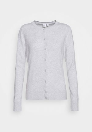 CREW CARDI - Cardigan - light heather grey
