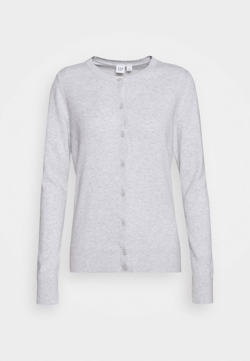 GAP - CREW CARDI - Cardigan - light heather grey