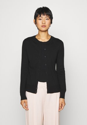 CREW CARDI - Kardigan - true black