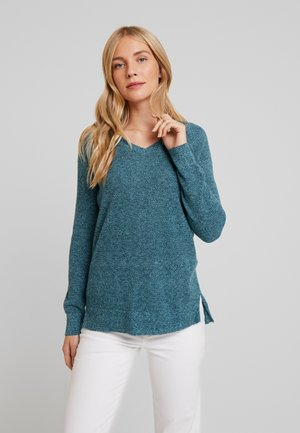 BELLA - Trui - teal heather