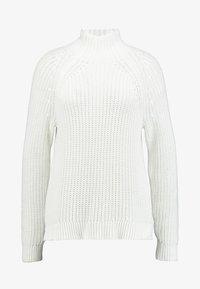 GAP - SHAKER TNECK - Sweter - milk - 4