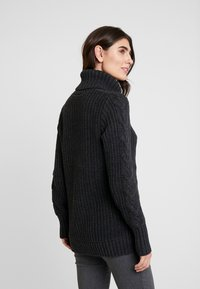 GAP - CABLE NECK  - Svetr - charcoal heather - 2