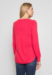 GAP - BROOKLYN CREW - Strikkegenser - neon hot lava - 2
