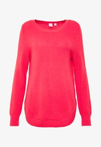 GAP - BROOKLYN CREW - Strikkegenser - neon hot lava