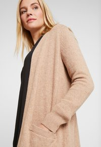 GAP - OPEN FRONT DUSTER - Cardigan - camel heather - 3