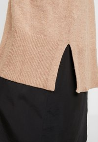 GAP - OPEN FRONT DUSTER - Cardigan - camel heather