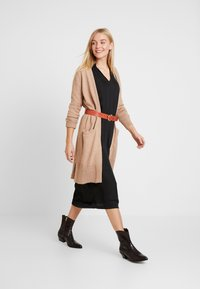 GAP - OPEN FRONT DUSTER - Cardigan - camel heather - 1
