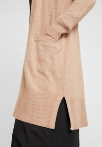GAP - OPEN FRONT DUSTER - Cardigan - camel heather - 4