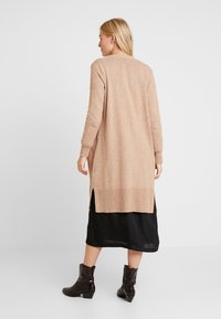 GAP - OPEN FRONT DUSTER - Cardigan - camel heather - 2
