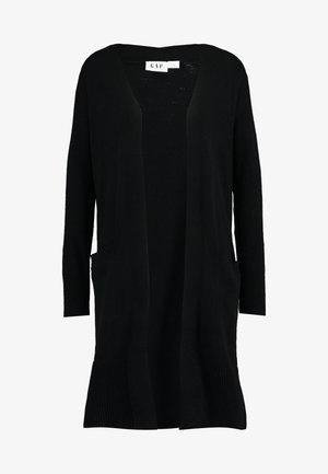 OPEN FRONT DUSTER - Cardigan - true black