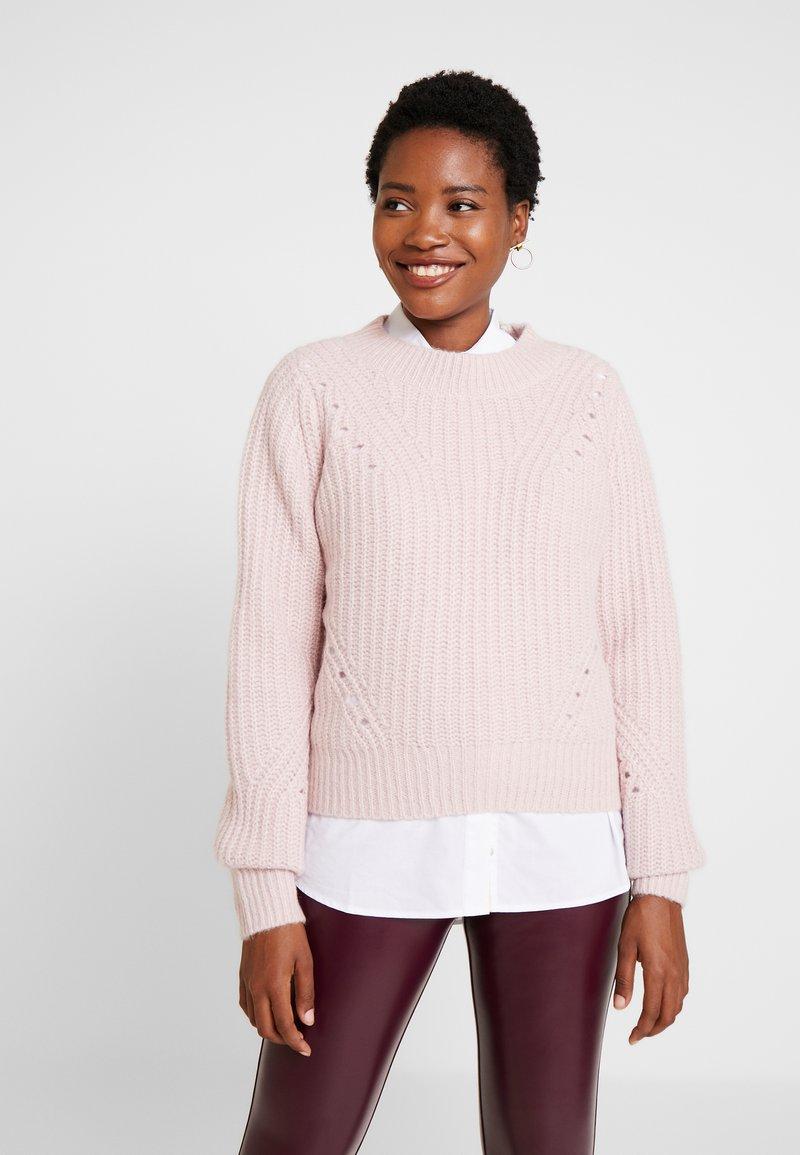 GAP - BRUSHED CREW - Jumper - soft pink