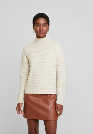 MOCK - Jersey de punto - oatmeal heather