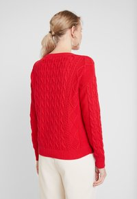 GAP - CABLE CREW - Sweter - modern red - 2