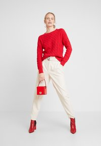 GAP - CABLE CREW - Sweter - modern red - 1