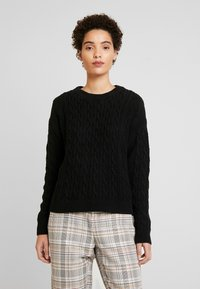 GAP - CABLE CREW - Maglione - true black - 0