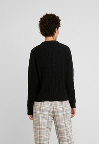 GAP - CABLE CREW - Maglione - true black - 2