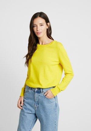 CREW - Sweter - bold yellow