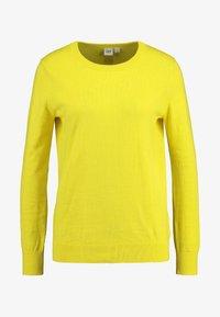 GAP - CREW - Sweter - bold yellow - 3