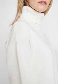 GAP - V-CROP OVERSIZE - Pullover - snowflake milk - 5