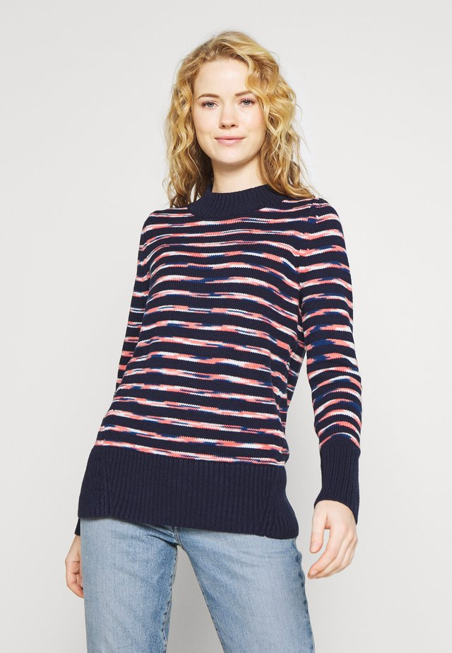 Sweter - new coral stripe