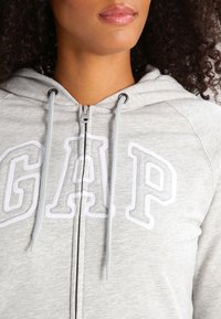 GAP - Hettejakke - light heather grey - 3