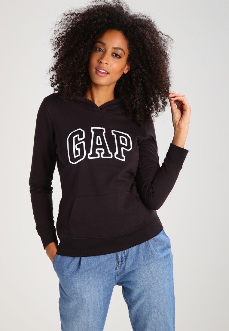 GAP Bluza z kapturem - true black