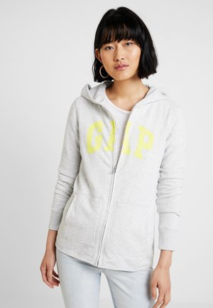 Zip-up hoodie - light heather grey
