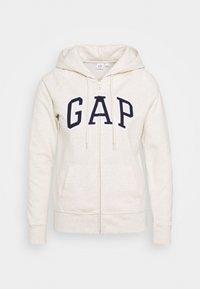 GAP - FASH - Bluza rozpinana - oatmeal heather - 0