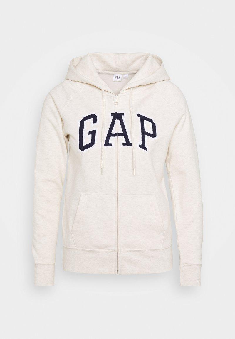GAP - FASH - Bluza rozpinana - oatmeal heather