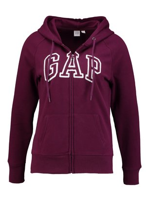 Zip-up hoodie - beach plum