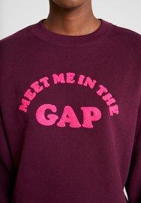 GAP - MEET ME PO - Sweatshirt - secret plum - 5
