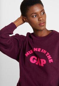 GAP - MEET ME PO - Sweatshirt - secret plum - 3